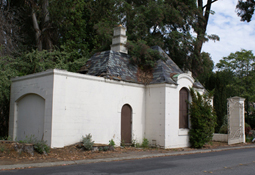 Gate House Before Reconstruction Exterior